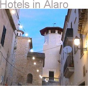 Hotels in Alaro
