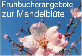 Frühbucherangebote zur Mandelblüte