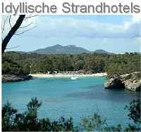 Idyllische Strandhotels